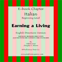 Earning a Living italian ebook cover