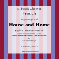 House and Home french ebook pub red new
