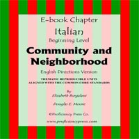 Comm and Neighbor italian ebook cover